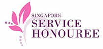 singapore service honouree logo