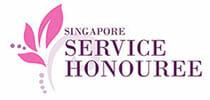 singapore service honouree logo